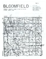 Bloomfield Township, Petersville, Delmar, Clinton County 1960